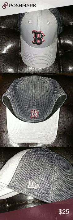 New Era 39Thirty Boston Red Sox stretch fit Brand new without tags..Wife bought 3-25-17..Too tight, didn't keep receipt.. Literally been worn less than a hour.. Can't return, don't have my size New Era Other