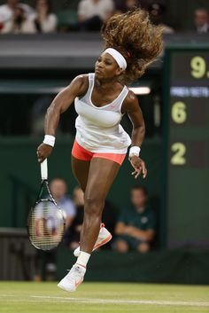"""LONDON - The Championships Wimbledon ..Serena Williams' 34-match winning streak is the longest for a woman since older sister Venus had a run of 35 in 2000..Defending Champion & World #1 Serena's 3rd rd post-match interview: : """"You don't want to play your best tennis in the 1st round & continue to go down. I feel like I try to play better as each match goes on,""""  """"I try to find out something I can improve on from each match so I can do it better in the next round.""""  6/29/13  #TeamSerena"""