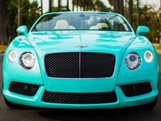 Tiffany Blue Bentley 2013