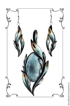 - Best of jewelry - Комплекты украшений ручной работы. Tiffany Jewelry, Opal Jewelry, Jewelry Art, Antique Jewelry, Fine Jewelry, Quartz Jewelry, Jewelry Armoire, Jewelry Model, Modern Jewelry