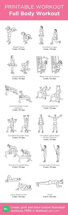 See more here ► www.youtube.com/... Tags: weight loss aids, weight loss for women, workout plans for weight loss - Full Body Workout: my custom printable workout by @WorkoutLabs #workoutlabs #customworkout #exercise #diet #wor                                                                                                                                                                                 More