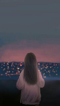 29 ideas nature girl cartoon for 2019 Cute Girl Wallpaper, Couple Wallpaper, Cover Wattpad, Foto Top, Girly Drawings, Anime Love Couple, Cute Backgrounds, Digital Art Girl, Photo Instagram