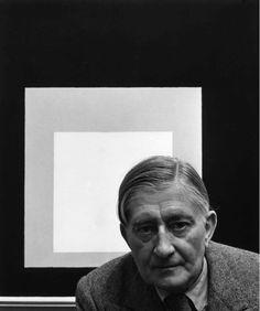 Joseph Albers, German/American Painter,1948 !!!  Arnold Newman's Incredible Artist Portraits (25 photos) - My Modern Metropolis