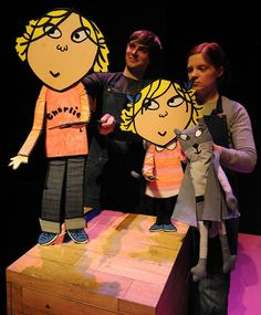 Charlie and Lola and Bat Cat puppets!