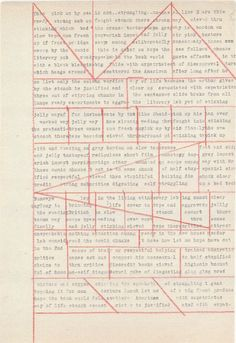 Pre-cut-up's by William Burroughs.