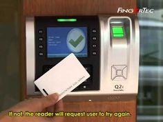 FingerTec USA R2 FingerTec Access Control and Time Attendance Fingerprint plus RFID | Shop the River with RichViers
