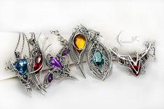 Necklaces by Lunarieen UK by LUNARIEEN on DeviantArt