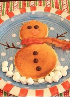 Christmas morning pancakes