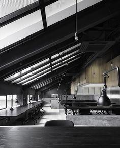 Modern Industrial Workspace