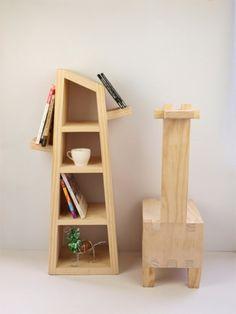木匠兄妹設計款家具-長頸鹿椅子 - 木匠兄妹 | Pinkoi