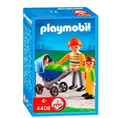 Amazon.com: Playmobil Dad with Stroller: Toys & Games