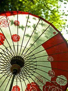 Japanese umbrella: photo by yocca, via Flickr