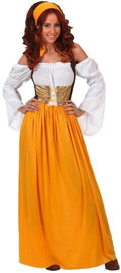 Disfraz de sirvienta mesonera para mujer