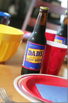 Father's Day - cute idea for doing Dad's Day! Next year maybe....
