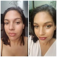 Quick before n after by Kiwi mum using Eco Minerals products!