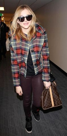 Chloë Grace Moretz Wins at Street Style, and Here's the Proof - January 18, 2014 from #InStyle