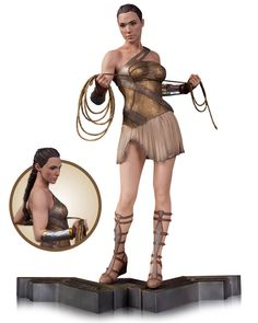 DC Collectibles Wonder Woman Training Outfit Statue Sculpted by James Marsano. Measures approximately tall. Before she was wonder Woman, she was Diana, Wonder Woman Cosplay, Wonder Woman Film, Gal Gadot Wonder Woman, Wonder Women, Training Outfit, Dc Comics, 3d Figures, Action Figures, Movie Scripts