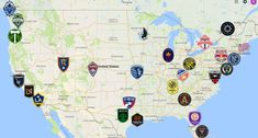 2021 MLS Map Minnesota United Fc, Atlanta United Fc, Dc United, Vancouver Whitecaps Fc, Bastian Schweinsteiger, Sporting Kansas City, Toronto Fc, Chicago Fire, Cincinnati