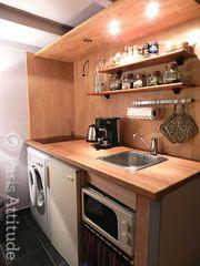 Apartment in Paris 25 m2