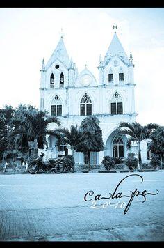 Gothic Roman Catholic Church in Calape,Bohol Philippines