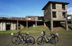 The bike trails in Fort Stevens State Park, Oregon, offer a great, family-friendly bike ride, with lots of interesting sights along the way. Rv Parks, State Parks, Bike Trails, Biking, Cycling Workout, Rv Camping, Rv Living, Historical Sites, All Over The World