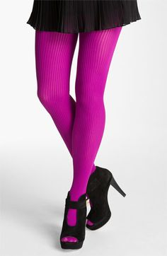 Nordstrom Ribbed Tights available at #Nordstrom