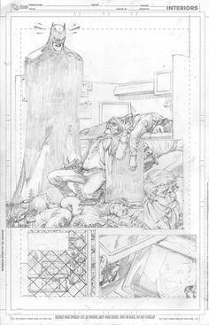 Devestated by ~TheGregCapullo on deviantART Comic Book Pages, Comic Book Artists, Comic Books Art, Comic Art, Greg Capullo, Monochromatic Art, Comic Panels, Batman Art, Panel Art