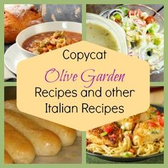 29 Copycat Olive Garden Recipes and Other Italian Recipes
