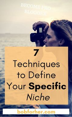 7 Techniques to Define Your Specific Niche Make Money Blogging, Make Money Online, How To Make Money, Thing 1, Blogger Tips, Work From Home Moms, Online Work, Blogging For Beginners, How To Start A Blog