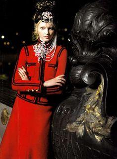 chanel Russian Fashion