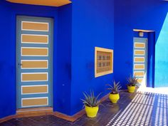 Jardin Majorelle, the Majorelle Garden, is one of the most beautiful tourist attractions in Marrakech, a world best tourist destination.