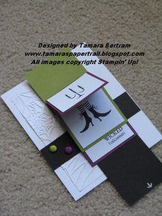 Waterfall Card - Tamara's Paper Trail
