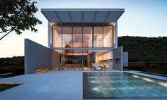CASA FW em Balneário Camboriú, Praia do Estaleiro | 2016. #casa #arquitetura #casas #concreto #camboriu #terraço #arquitetos #ideias #fachada #arquitectura #houses #pool #piscina