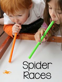 26 Halloween Games for Kids So much fun for kids! Easy, cheap, & fun Halloween games for kids! Awesome ideas for school parties or fall festivals! Love this idea via Still Playing School! Halloween Games For Kids, Halloween Class Party, Halloween Birthday, Halloween Themes, Haloween Games, Birthday Games, Halloween Party Activities, Kindergarten Halloween Party, Fall Party Ideas For Kids School