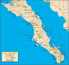 Baja Sur Map - All About Baja
