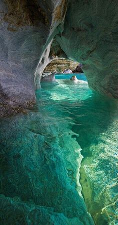 Clear Water Cave by Emily Norris on 500px