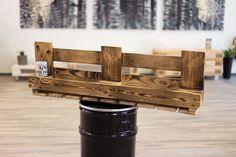 Küchenregale - Palettenmöbel / Paletten-Weinregal / Upcycling - ein Designerstück von fette-palette bei DaWanda