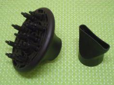Revlon Hairdryer Attachments(Volumizing Finger Diffuser & Concentrator)Free SHIP #Revlon
