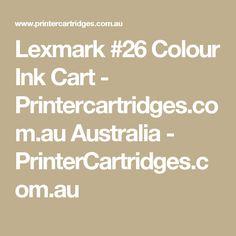 Lexmark #26 Colour Ink Cart - Printercartridges.com.au Australia - PrinterCartridges.com.au