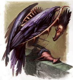 Monster Manual V: Blackwing by ~ariokh on deviantART