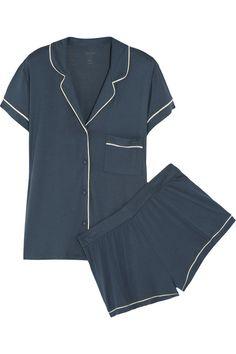 Calvin Klein Underwear|Structure stretch-jersey pajama set|NET-A-PORTER.COM