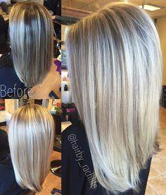 Dimensional blonde highlights   Hair by Rachel Fife @ Sara Fraraccio Salon in Akron, Ohio