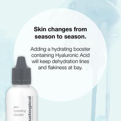 Try incorporating extra hydrating products like Dermalogica Skin Hydrating Booster into your daily skin care regime, now that the weather is getting cooler. www.skincarewithkristin.com