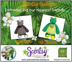 Scent-sational Home...: Mar 6, 2015 Scentsy Buddies 2 New Scentsy Buddies Www.kristymorales.scentsy.us