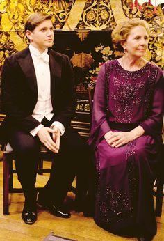 Isobel Crawley and Tom Branson | #DowntonAbbey