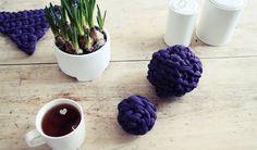 Easy DIY Fabric Yarn, Merino Wool Blanket, Easy Diy, Life, Bricolage Facile