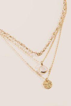 6f60dda58f8 francesca's Zari Beaded Multi Layered Necklace - Crisp Champagne Κολιέ,  Κοσμήματα, Αξεσουάρ, Bijoux