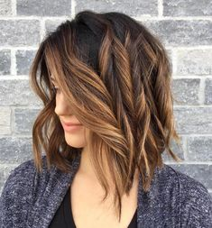 Caramel Highlights For Brunette Hair. Are you looking for hair color ideas for brunettes for fall winter and summer? See our collection full of hair color ideas for brunettes and get inspired!
