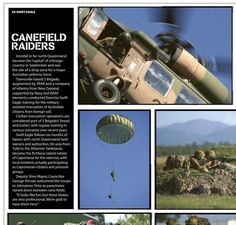 Exercise Swift Eagle. Published in issue #4, December 2004