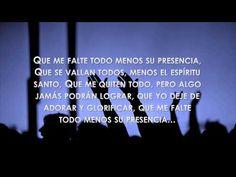 Que Me Falte Todo - Con letra - Zuleyka Barreiro - YouTube Christian Music, Youtube, Paper, Christian Songs, Te Amo Mi Amor, Youtube Movies